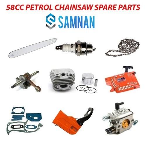 58cc Petrol / Gasoline Chainsaw Spare Parts