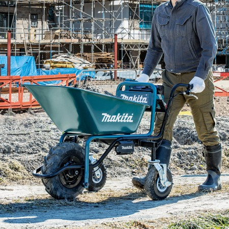 Makita Battery Powered Wheelbarrow DCU180