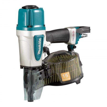 Makita Pneumatic Coil Nailer AN613