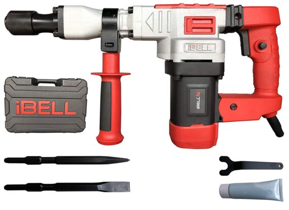 IBELL Demolition Hammer IBL DH10-78, 1150W, 4100RPM, 230V, 17MM - 6 Months