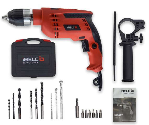 IBELL-Impact-Drill-2800RPM-Accessories