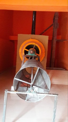 Automatic Puffed Rice Roaster, 3 H.p- 150 H.p