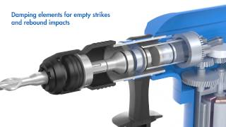 Samnantools 3-26 rotary hammer hammering unit